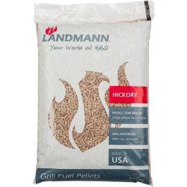 Peleti pentru Grill Landmann 16320, lemn de hickory, 9 Kg