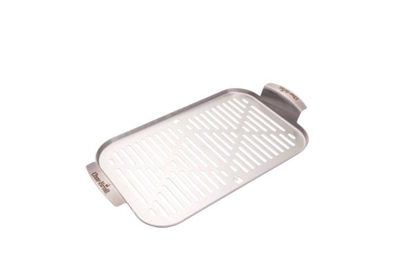 Tava din inox tip grill pentru gratar 22 x 42,5 x 2 cm Char-Broil 140015 - 1