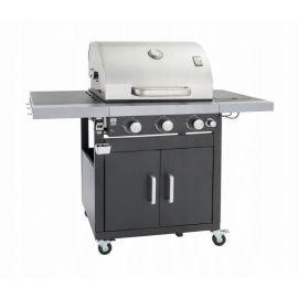 Gratar pe gaz cu 3+1 arzatoare, gratare din fonta, Grill Chef Landmann 12251 - 1