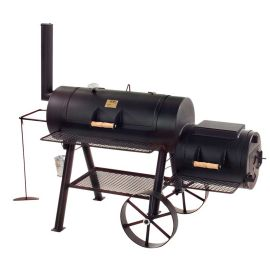 "Gratar pe carbuni cu afumatoare JOE's Barbeque Smoker 16"" Texas Classic JS-33752 - 1"