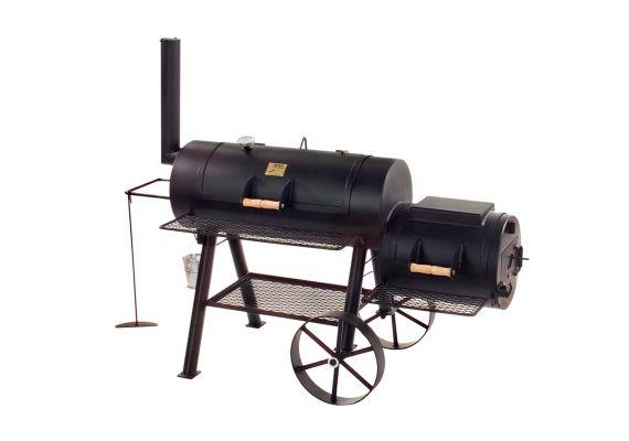 """Gratar pe carbuni cu afumatoare JOE's Barbeque Smoker 16"""" Texas Classic JS-33752 - 1"""