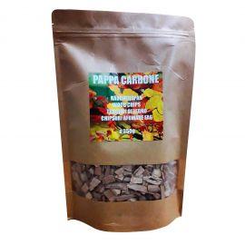 Aschii afumare lemn de fag marimea 4 Pappa Carbone FAGCLASS4 350 grame - 1