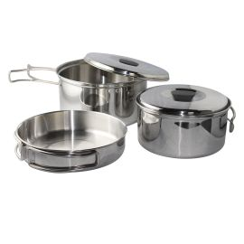 Set vase camping otel inoxidabil Enders Culina, 6 piese 6832 - 1