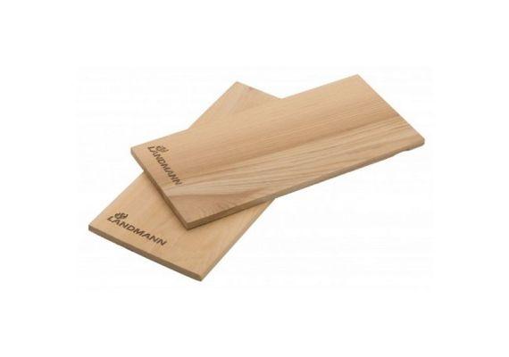 Set 2 placi din lemn de cedru pentru gatire la gratar Landmann 13956 - 1