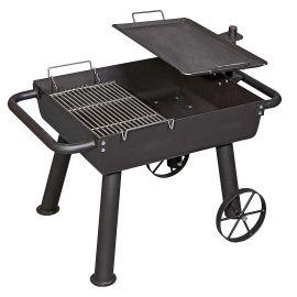 Gratar de campanie pe carbuni Cook Wagon Camp Chef CC-FPGG, grila otel, tava fonta - 1