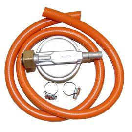 Set regulator de presiune gaz plus furtun, 30 MBAR Landmann 1039 - 1