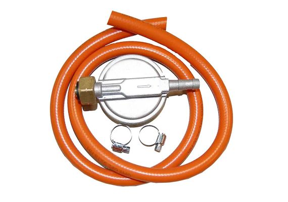 Set regulator de presiune gaz plus furtun, 30 MBAR Landmann 1039 - 1