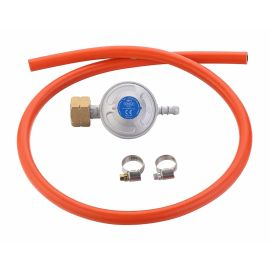 Set regulator de presiune gaz si furtun 100 cm Cadac 30mBar 8510 - 1