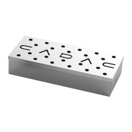 Cutie de afumare din inox pentru gratar 23x9x4 cm Cadac 98312V - 1