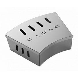Cutie de afumare mini din inox pentru gratar Cadac 98316V - 1