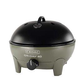 Gratar pe gaz si aragaz portabil Cadac Citi Chef 40 Olive Green 5610-20-12-EF - 1