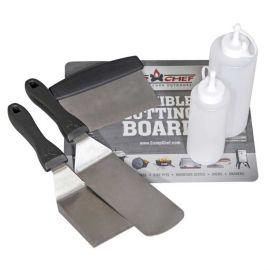 Set profesional de spatule pentru gratar si plancha Camp Chef CC-SPSET6 - 1