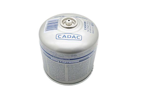 Cartus de gaz cu filet si valva pentru arzator 500 g Cadac CA500-N - 1