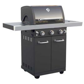 Gratar pe gaz cu 3+1 arzatoare, gratare din inox, Grill Chef Landmann 12907 - 1
