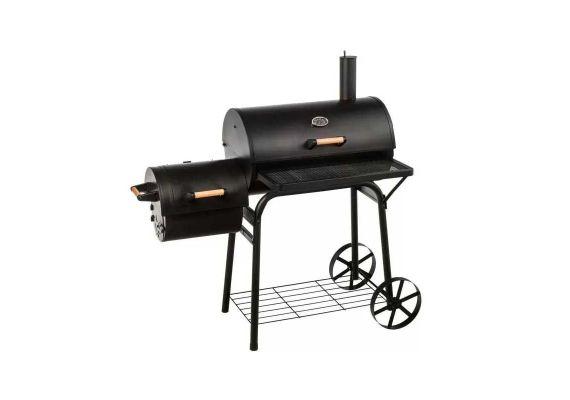 Gratar pe carbuni cu afumatoare American BBQ Washington Activa 11240 - 1