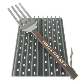 Set 2 grile pentru gratar de 41,5 x 13 cm si spatula GrillGrate WGG16.25K - 1