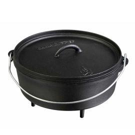 Ceaun din fonta cu capac - cuptor olandez Camp Chef 30,4 cm 5,6 litri CC-SDO12 - 1