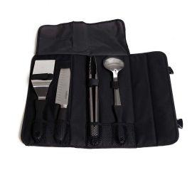 Set profesional de 4 unelte pentru gatit la gratar cu husa transport Camp Chef CC-KSET5 - 1