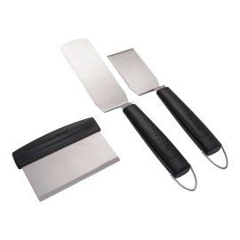 Set 3 spatule pentru gratar si plancha Char-Broil 140022 - 1