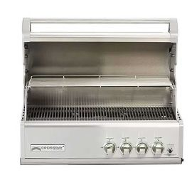 Gratar pe gaz cu 4 arzatoare infrarosu, incastrabil, gratare din fonta, Crossray by Heatstrip TCS4EU30 - 1
