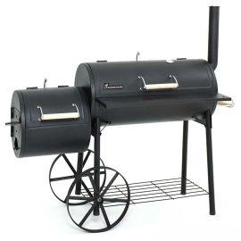 Gratar pe carbuni cu afumatoare BBQ Smoker Tennessee Grill Chef Landmann 11093 - 1