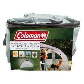 Perete cu usa pentru cort de evenimente pavilion PRO SILVER Coleman 4.5mx4.5m - 2000016840 - 1