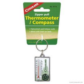 Breloc cu termometru si busola Coghlans - C9714 - 1