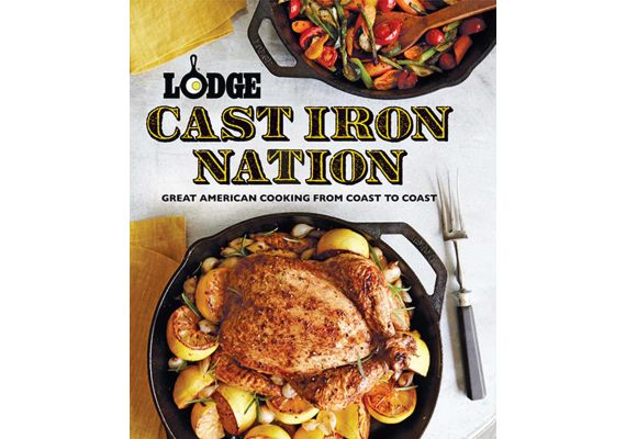 Lodge Cast lron Nation - Great American Cooking From Coast to Coast L-CBCIN - 1