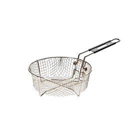 Cos rotund pentru prajire din otel inoxidabil cu diametru de 22 cm pentru ceaunele Lodge L-8FB2 - 1