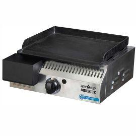 Arzator lateral pe gaz tip plancha din fonta pentru grill-urile pe peleti Woodwind Camp Chef Sidekick CC-PG14EU - 1