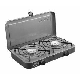 Aragaz de camping portabil cu 2 arzatoare pe gaz Cadac Classic 202M0-10-EU - 1
