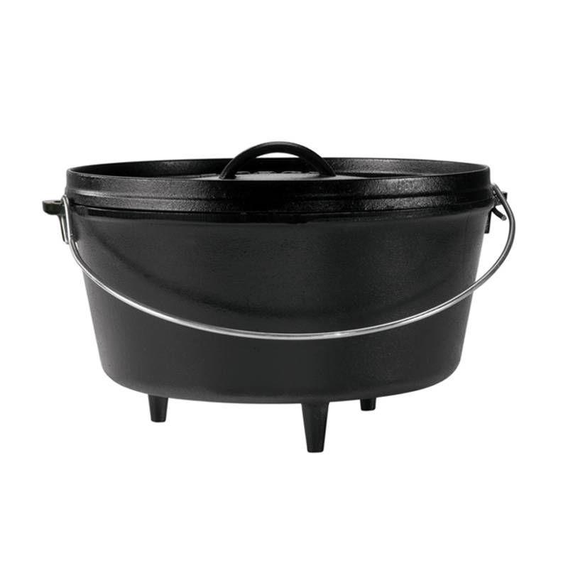 Ceaun din fonta cu capac - cuptor olandez Lodge 30,2 cm 7,6 litri L-12DCO3