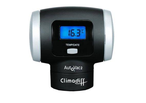 Aparat de vidare cu baterii si display Climadiff AUTOVAC2 - 1