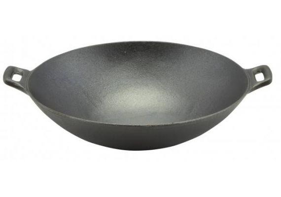 Tigaie Wok din fonta 36,5 cm PFH022