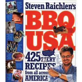 BBQ USA: 425 Fiery Recipes from All Across America, Steven Raichlen - 1