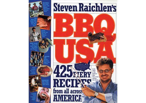 BBQ USA: 425 Fiery Recipes from All Across America, Steven Raichlen - 1