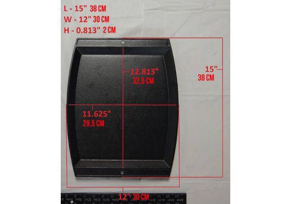 Tava rectangulara din fonta Jumbo Chef's Lodge 38 x 31 cm L-JSCP3