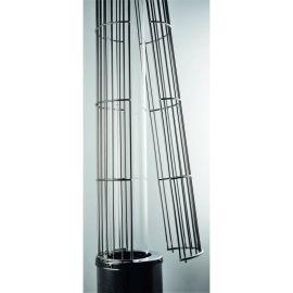 Incalzitor de terasa din inox tip ciuperca efect flacara masa servire Eco-Plus 9 Kw Activa 13050ES
