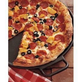 Tigaie din fonta pentru pizza Lodge 36 cm L-P14P3 - 11