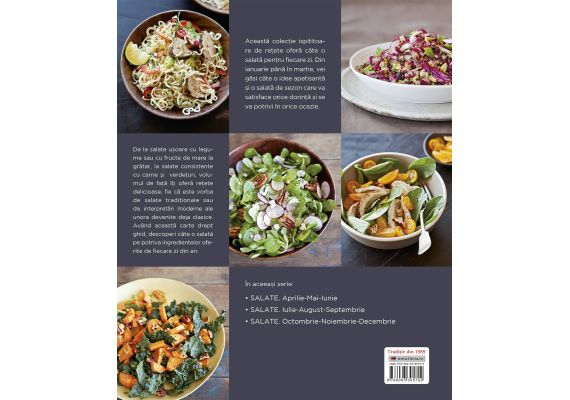 Salate. O reteta pentru fiecare zi din an (ianuarie, februarie, martie), Georgeanne Brennan