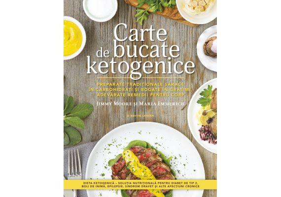 Carte de bucate ketogenice, Jimmy Moore, Maria Emmerich - 1