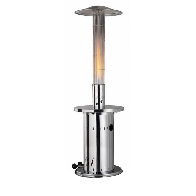 Incalzitor de terasa din inox tip ciuperca efect flacara masa servire Eco-Plus 9 Kw Activa 13050ES - 1