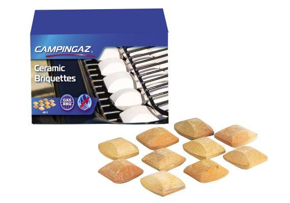 Brichete ceramice pentru gratar 40 bucati 5 x 5 cm Campingaz 205636 - 1