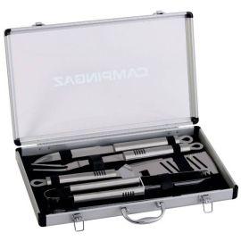 Set ustensile pentru gratar in cutie din aluminiu Campingaz 205828
