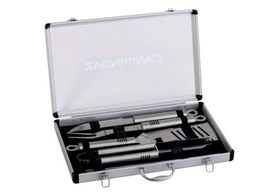 Set ustensile pentru gratar in cutie din aluminiu Campingaz 205828 - 1