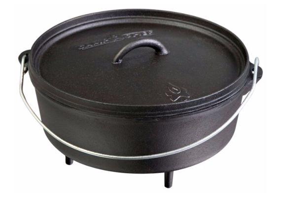 Ceaun din fonta cu capac - cuptor olandez Camp Chef 21,6 cm 1,9 litri CC-SDO8 - 1