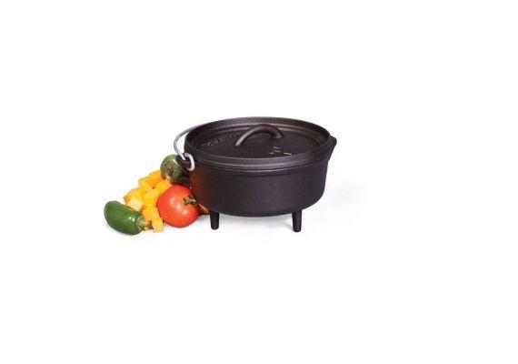 Ceaun din fonta cu capac - cuptor olandez Camp Chef 21,6 cm 1,9 litri CC-SDO8