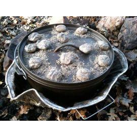 Ceaun din fonta cu capac - cuptor olandez Camp Chef 25,4 cm 3,8 litri CC-SDO10