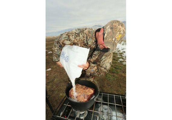 Ceaun din fonta cu capac - cuptor olandez Camp Chef 36 cm 7,6 litri CC-SDO14