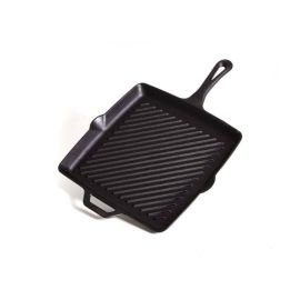 Tigaie grill patrata din fonta cu maner Camp Chef 28 cm CC-SK11R